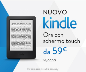 Nuovo Amazon Kindle a soli 59€